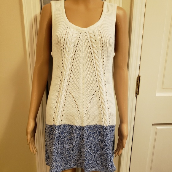 DESIGN 365 Dresses & Skirts - SWEATER DRESS SLEEVELESS~NEW WITH TAGS~SIZE LARGE